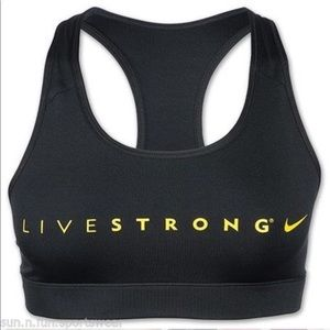 🍭 🆕 Ladies Nike Livestrong Dri-fit Sports Bra